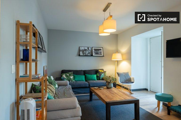 Fantástico apartamento de 2 quartos para alugar em Arroios, Lisboa