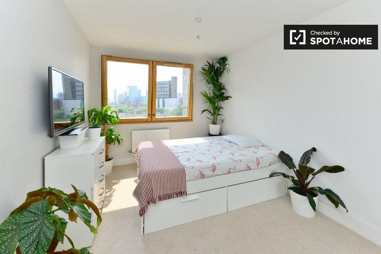 Tower Hamlets, Londra'da 3 yatak odalı flatshare aydınlık oda