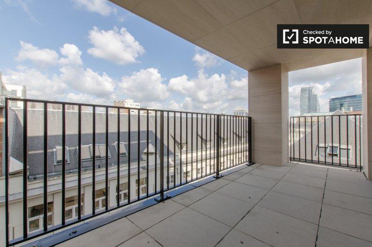 Brüksel şehir merkezinde kiralık 3 odalı güzel daire