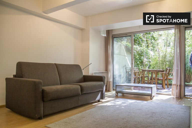 Stylish studio apartment for rent in the 14th arrondissement of Paris