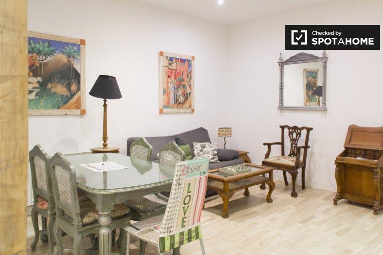 3-Zimmer-Wohnung zur Miete in Centro, Madrid