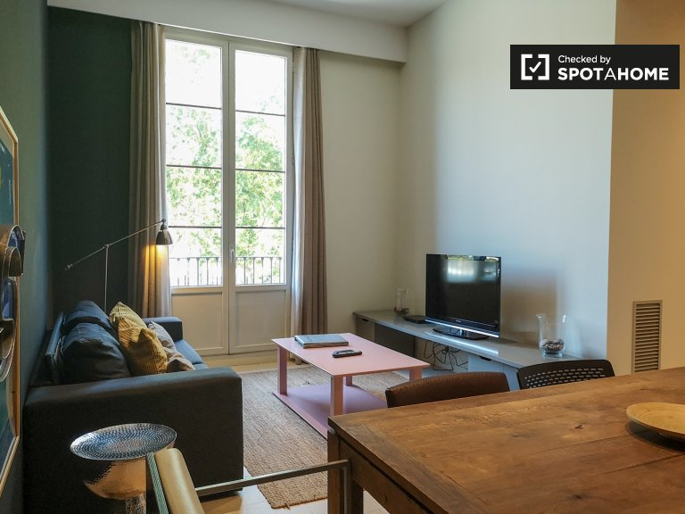 Charmante 2-Zimmer-Wohnung zur Miete in El Born, Barcelona