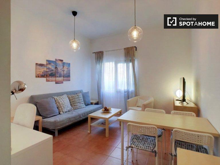 Elegante apartamento de 1 dormitorio en alquiler en Guindalera, Madrid
