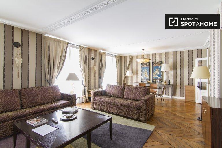 Appartement 1 chambre à louer à Paris 8