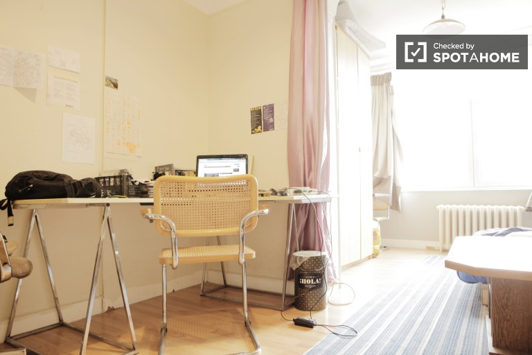 Huge room in apartment in Woluwe-Saint-Pierre, Brussels