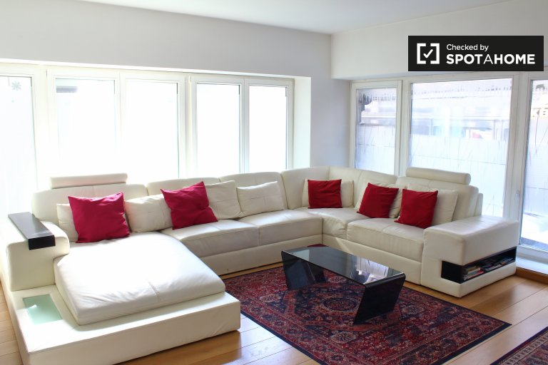 Homey 2-bedroom apartment for rent in Brussels City Center