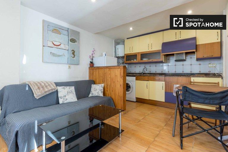 Cozy studio apartment for rent in Extramurs, Valencia
