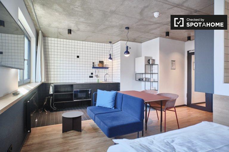 Helles Studio-Wohnung in Friedrichshain, Berlin