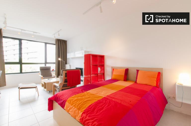 Stylowy apartament typu studio do wynajęcia w Evere, Bruksela