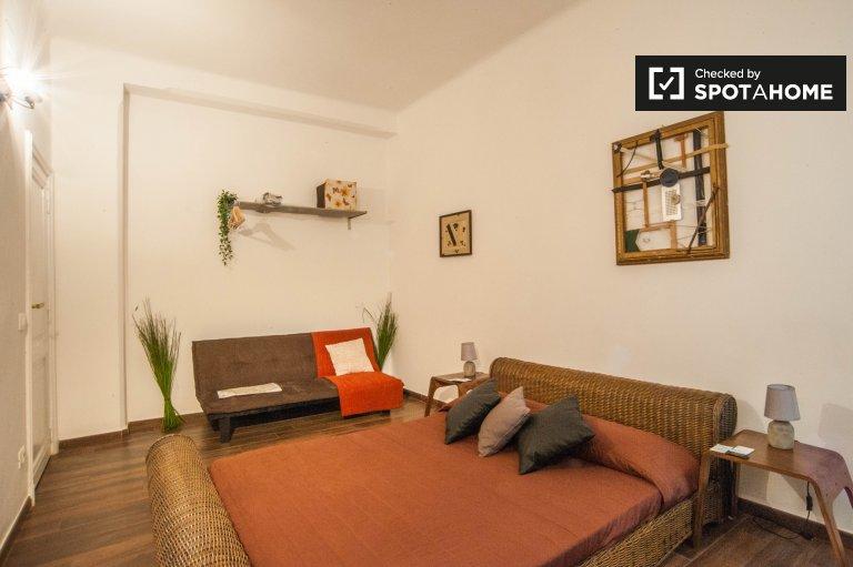 Chambre de charme dans un appartement de 3 chambres à San Giovani, Rome