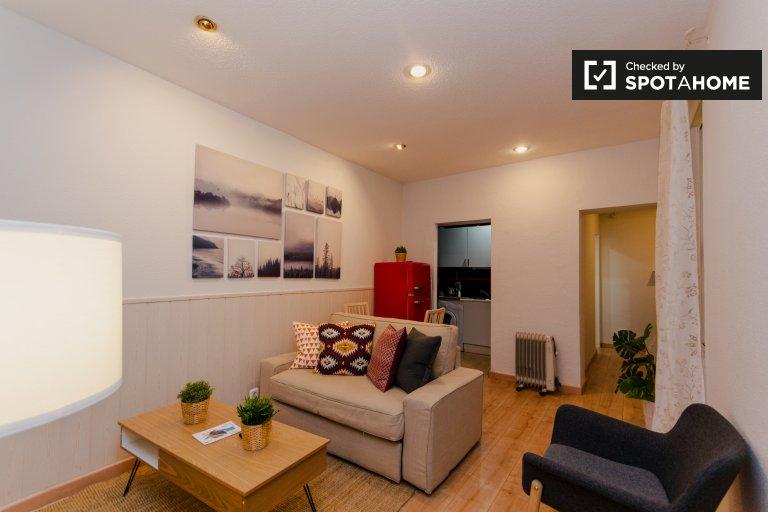 Stilvolle Studio-Wohnung zu vermieten, Almagro, Madrid