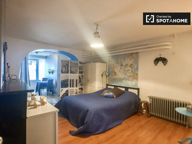 Studio-Wohnung zu vermieten, Europaviertel, Brüssel