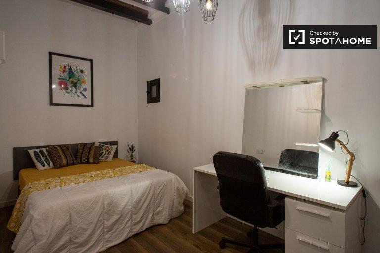 Eixample Dreta, Barselona'da 3 yatak odalı dairede oda