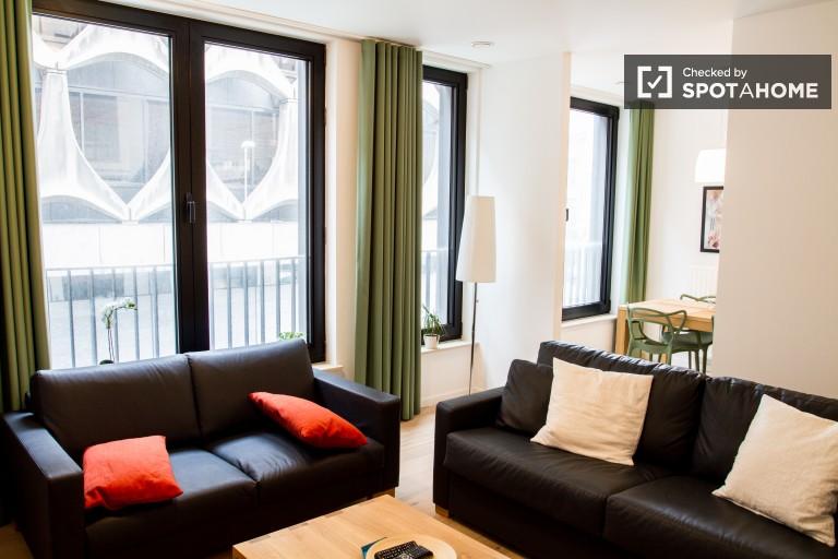 70m2 1-pokojowe mieszkanie do wynajęcia w centrum Brukseli