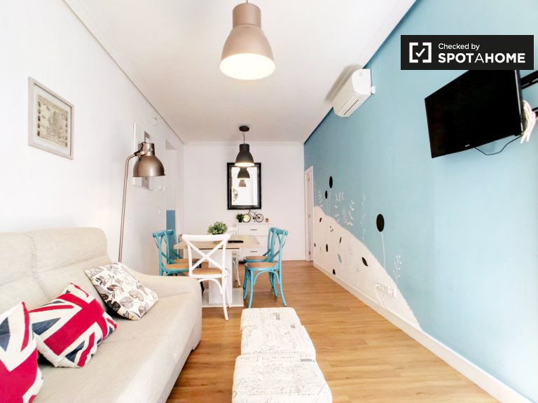 2-Zimmer-Wohnung zur Miete - Barrio de las Letras, Madrid