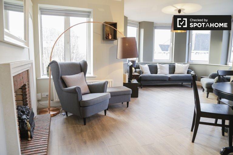 Serviced 2-Zimmer-Wohnung zu vermieten in Ballsbridge, D4