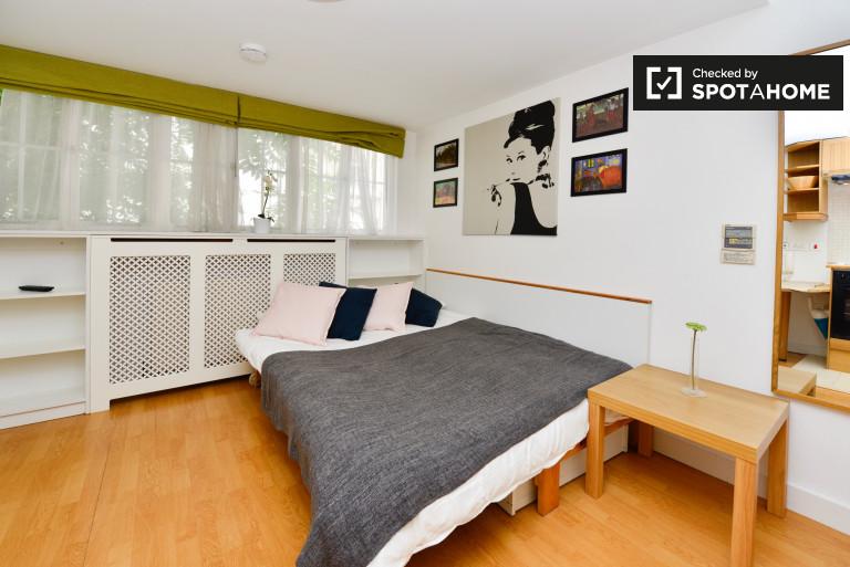 Bel appartement studio à louer à Pimlico, Londres.