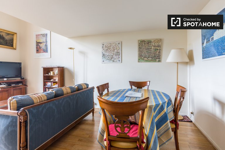 Bright 1-bedroom apartment for rent in the 3rd arrondissement