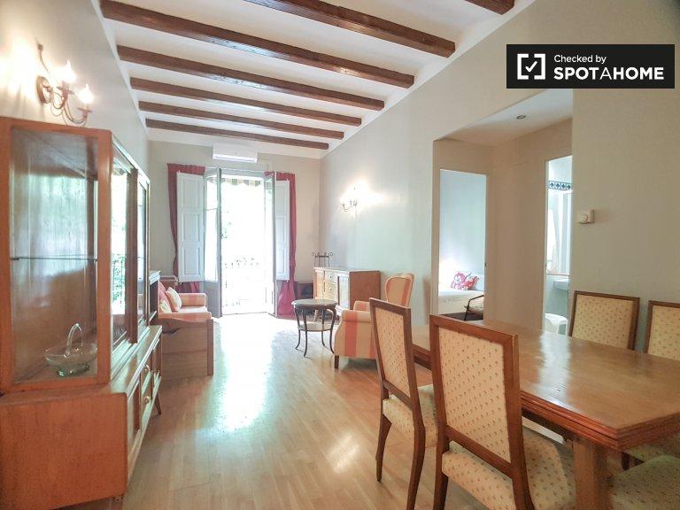 Lindo apartamento de 2 quartos para alugar em Poblenou, Barcelona