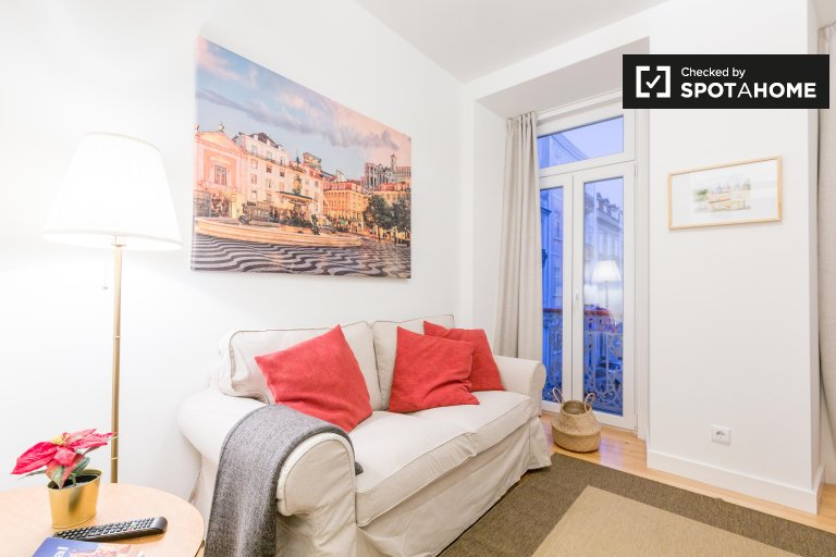 Appartement frais de 3 chambres à louer, Arroios, Lisbonne