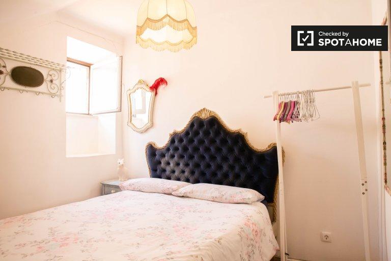 Chambre lumineuse à louer à Bairro Alto, Lisbonne