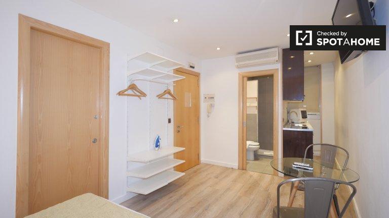 Appartamento studio funky in affitto a Barri Gòtic, Barcellona