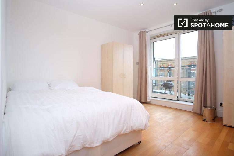 Quarto mobiliado no apartamento em Earls Court, Londres