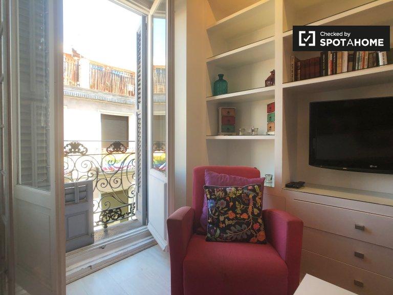 İki kişilik stüdyo, Chueca, Madrid, Kiralık
