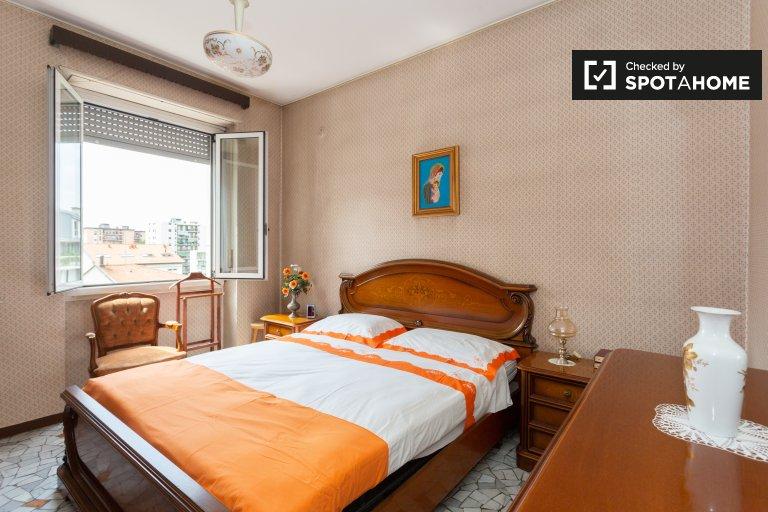 Apartamento de 1 quarto para alugar em Dergano, Milão
