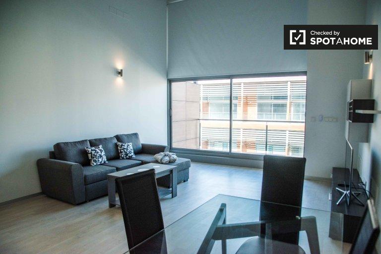 Nowoczesny apartament typu studio do wynajęcia w Patraix, Valencia