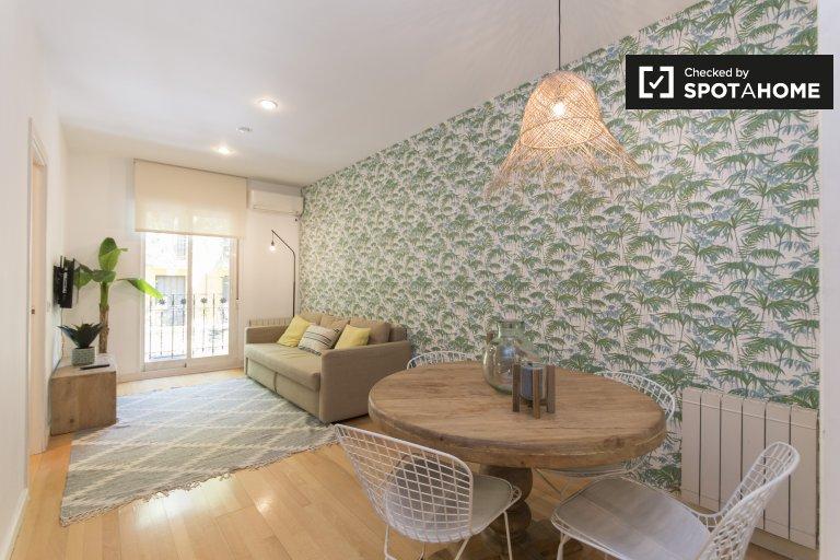 Apartamento de 1 quarto para alugar em Argüelles, Madrid