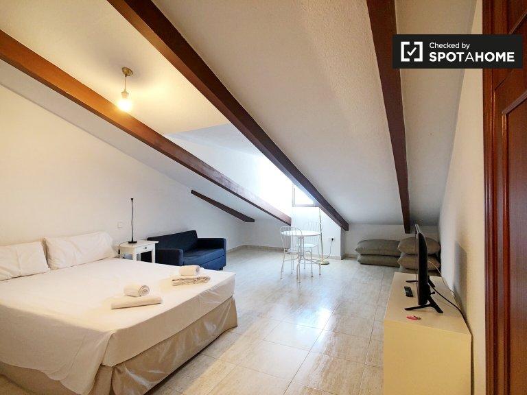 Apartamento de estúdio para alugar em Madrid Centro