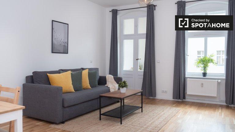 Schickes Apartment mit 1 Schlafzimmer zur Miete in Mitte, Berlin
