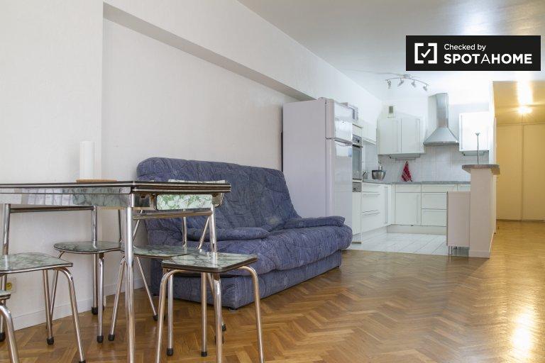 Appartamento in affitto nel 13 ° arrondissement, Parigi 1 camera da letto