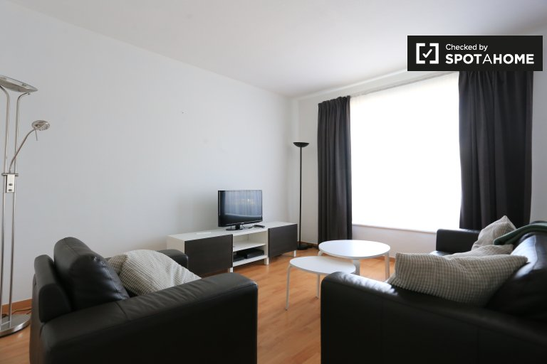 2-bedroom apartment for rent in Evere, Brussels