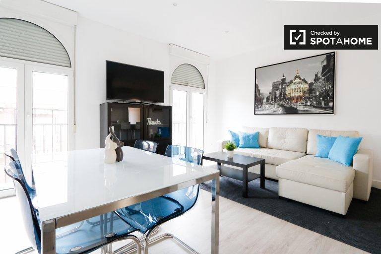 Moderne appartement de 2 chambres à louer à Salamanca, Madrid