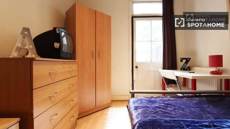 Exterior room in shared flat in Tottenham, London