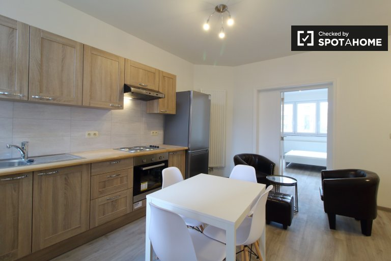 Modern 2-bedroom apartment for rent in Uccle, Brussels