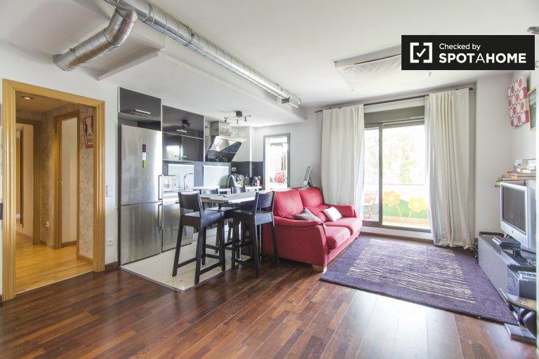 2-pokojowe mieszkanie do wynajęcia w Casa de Campo, Madryt