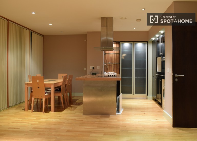 Renovated 2 Bedroom, 2 Bathroom Apartment for Rent for Workers in Sandyford