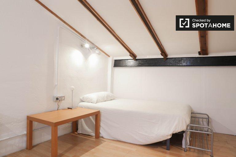 Nowoczesny pokój w apartamencie z 2 sypialniami w La Saïdia w Walencji