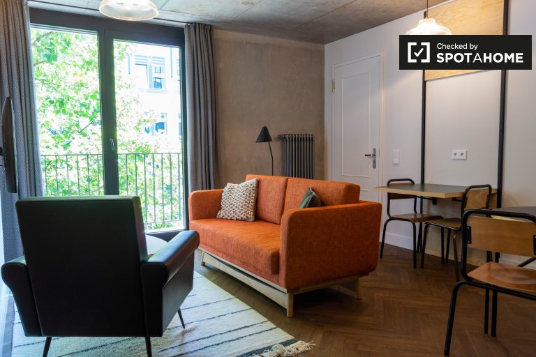 Modern apartment with 2 bedrooms for rent in Mitte, Berlin