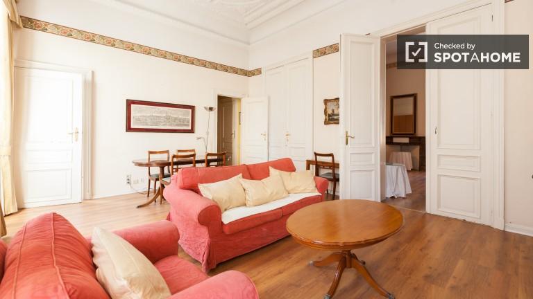 Apartament z 1 sypialnią w pobliżu Parlamentu Europejskiego - Bruksela