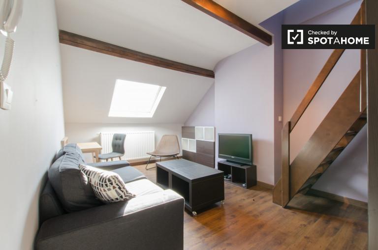 1-Zimmer-Wohnung zur Miete in Europaviertel, Brüssel