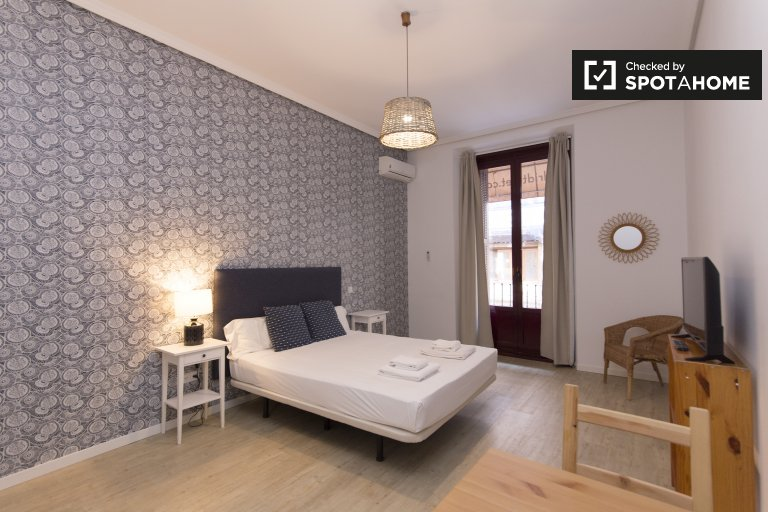 Elegancki apartament typu studio do wynajęcia w Centro w Madrycie