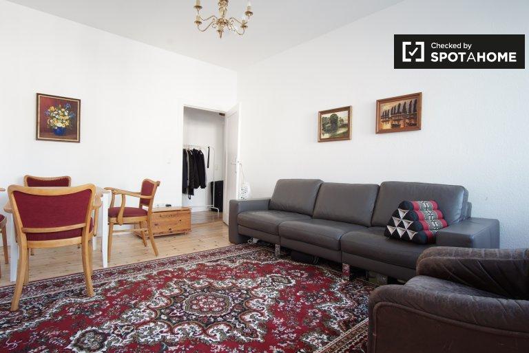 Moderno apartamento de 1 dormitorio en alquiler en Wedding, Berlín