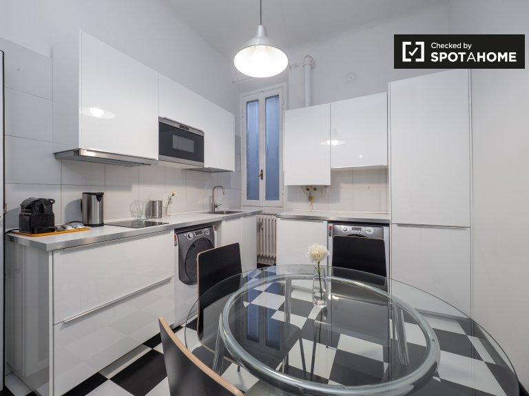 Slick 2-Zimmer-Wohnung zur Miete in Tortona, Mailand