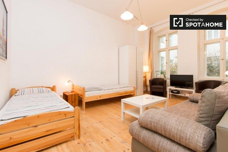 Przytulny apartament typu studio do wynajęcia w Prenzlauer Berg, Berlin