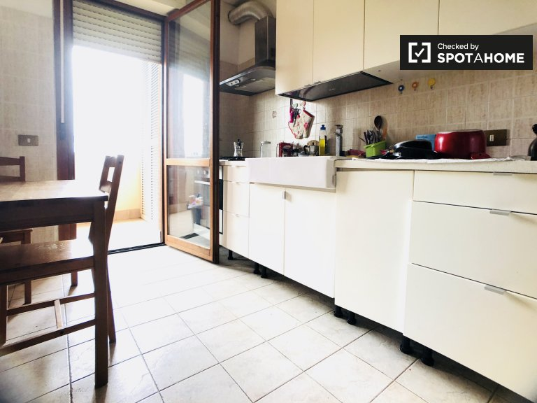 Spacious 4-bedroom apartment for rent in Bufalotta, Rome