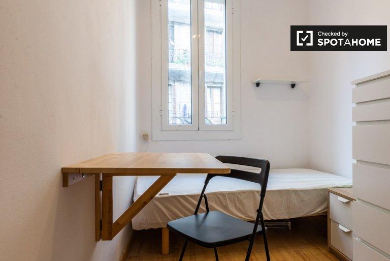 Chambre à louer, appartement de 2 chambres à coucher, El Raval, Barcelone